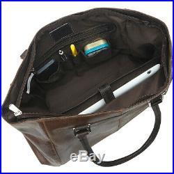 Piel Vintage Leather Executive Laptop Tote Vintage Women's Business Bag NEW