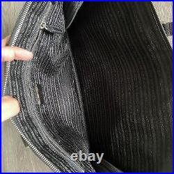 Prada Saffiano Leather Black Laptop Bag