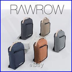 RAWROW Women Unisex Satchel Rucksacks Laptop Sleeve Backpack Book Messenger bag