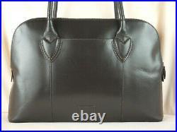 Radley Aldgate Laptop Bag Work Bag Large Shoulder Bag Dark Brown Leather Used