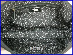 Radley Hilly Fields Large Laptop Bag Work Bag Quilted Black Nylon RRP 99