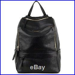 Real leather Backpack Laptop Bag School bag Women Ladies Designer bag Celebrity