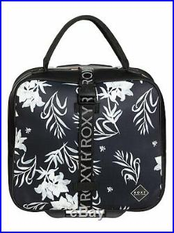 Roxy Geometric Storage Wheeled Laptop Cabin Bag Women ONE SIZE Black