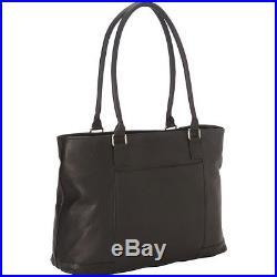 Royce Leather Women's Vaquetta 15 Laptop Tote Black Women's Business Bag NEW