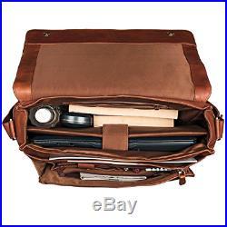 STILORD'Lonzo' Vintage Messenger Bag Leather Men Women 15'6 inch Laptop Cross