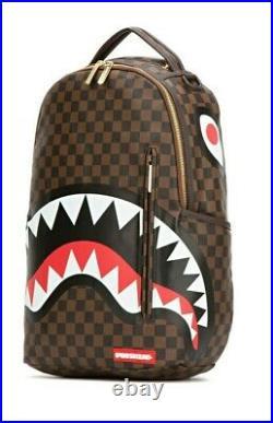 Shark In Paris 910b1890nsz Sprayground Backpack Laptop Unisex Bag New Collection
