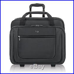 Solo New York Bryant Rolling Laptop Bag. Rolling Briefcase for Women and Men. Up