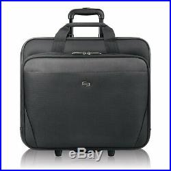 Solo New York Empire Rolling Laptop Bag. Rolling Briefcase for Women and Men