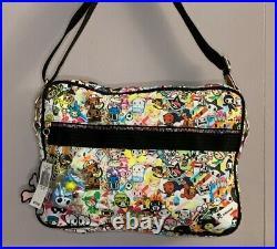 TOKIDOKI Laptop Bag Imagini DISCOTECA Vintage New with tags