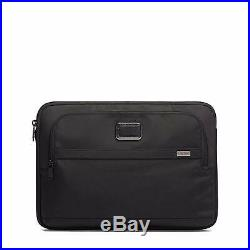 TUMI Alpha 3 Large 15 Inch Laptop Cover Computer Case for Men and Women Bl