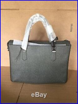 TUMI Stanton Nia Commuter Brief Laptop Travel Tote Bag 79420 Earl Grey Women