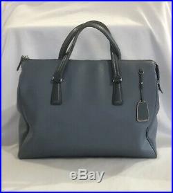 TUMI Stanton Nia Commuter Leather Laptop Travel Tote Bag Women