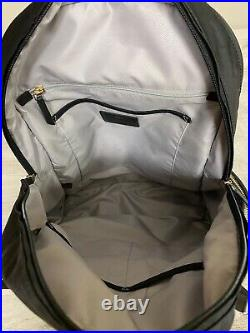 TUMI Voyageur Carson Laptop Backpack 15 Inch Computer Bag Black Nylon Pre Owned