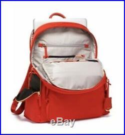 TUMI Voyageur Carson Laptop Backpack bag 15 Inch Computer Bag for Women Sunset