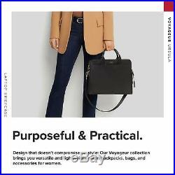 TUMI Voyageur Joanne Laptop Briefcase 14 Inch Computer Bag for Women Black