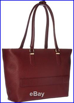 TUMI WOMENS SINCLAIR NELL 13 Laptop TOTE NEW with Dust Bag