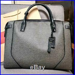 TUMI briefcase & Portfolios Stanton Irina for Men & Women Grey Laptop Bag 31%off