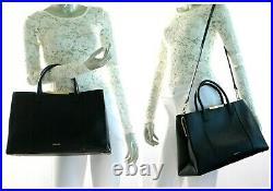 Ted Baker London Callia Soft Grain LARGE Laptop Bag in Black