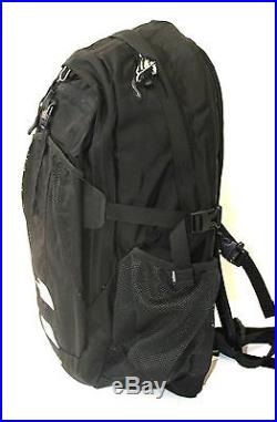 The North Face Women Recon laptop backpack book bag 18X13X3 TNF BLACK