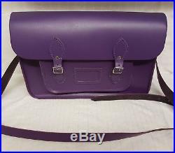 The cambridge satchel company Women's Messengers laptop purple bag RRP £160