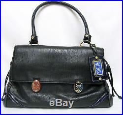 Tumi 73201 Carlos Falchi Leather Hand Shoulder Bag Laptop Case Women Lady