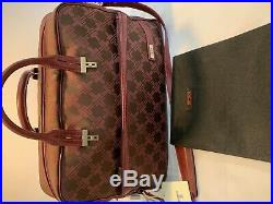 Tumi Briefcase/laptop bag Burgundy Signature collection New