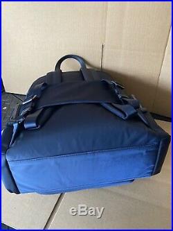 Tumi CARSON BACKPACK Voyageur Bag Nylon 196300 Navy Womens Laptop Travel Bag