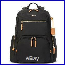 Tumi CARSON BACKPACK Voyageur Laptop Bag Black Nylon 196300 Recycled Capsule