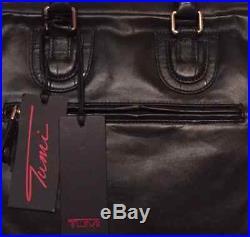 Tumi FORREST ATTACHE LEATHER Georgetown Bag Laptop Case Black 3 pcs 73232DL $595
