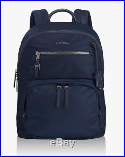 Tumi HAGEN BACKPACK Voyageur Laptop Bag Navy Blue Nylon 196302NVY $325