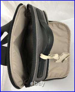 Tumi Larkin Laurel Backpack Laptop Carry Bag Ballistic Nylon Leather Rg $345 NEW
