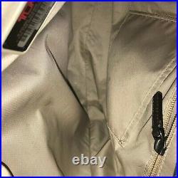 Tumi Sinclair Earl Grey Canvas Laptop Briefcase Messenger Business Bag 79391EG