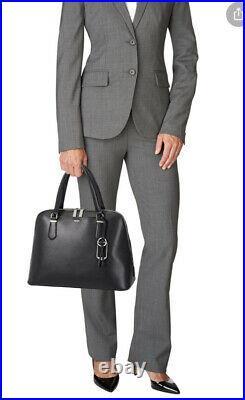 Tumi Stanton Deonne Domed Satchel Laptop Business Bag Black
