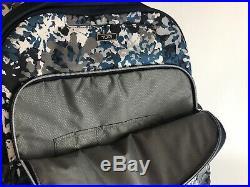 Tumi Voyageur Backpack Laptop Bag Boarding Tote Blue Floral Margarita, Calais Sz