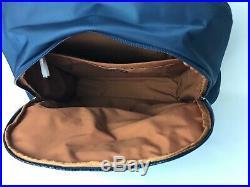 Tumi Voyageur Backpack Laptop Bag Boarding Tote Navy Blue Margarita, Carson Sz