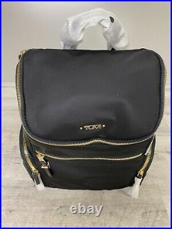 Tumi Voyageur Bethany Backpack Lightweight Laptop Bag Nylon 196324 Black New