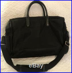 Tumi Voyageur Black Dara CarryAll Laptop Womens Business Bag