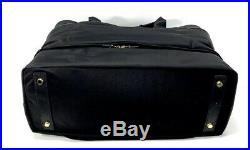 Tumi Voyageur Breyton Weekender Bag Black Nylon with Laptop Sleeve 494771