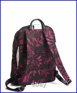Tumi Voyageur Hartford Backpack 13 Inch Laptop Computer Bag Floral Tapestry