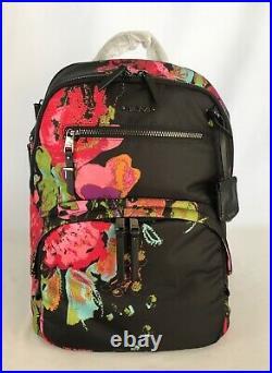 Tumi Voyageur Hartford Backpack Lightweight Laptop Bag Collage Floral