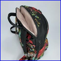 Tumi Voyageur Hartford Laptop Backpack Collage Floral Casual Business Bag