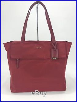 Tumi Voyageur Large M-Tote Laptop Carry-All Bag Crimson Red 494766