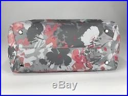 Tumi Voyageur Large M-Tote Laptop Carry-All Bag Grey Pink Floral 494766