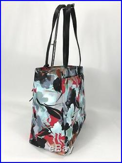 Tumi Voyageur Large M-Tote Laptop Carry-On Carry-All Bag Pacific Floral 494766