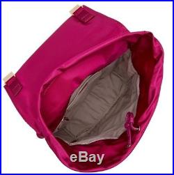 Tumi Voyageur Sacha Flap Backpack Women's Laptop Travel Bag 0484710 MAGENTA