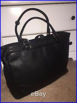 Tumi Women Villa Viverone Black Brief Tote Carry On Luggage Laptop Purse Bag