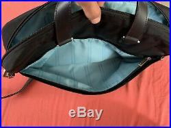 Tumi Women's Laptop Computer Business Bag Tote Black Excellent (A1929)