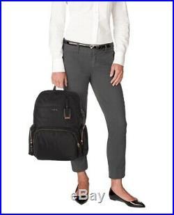 Tumi Women's Voyageur Calais Backpack Black for Business Travellers laptop bag