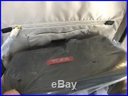 Tumi Women's Voyageur Leather Calais Backpack Laptop Travel Bag 96066 Black