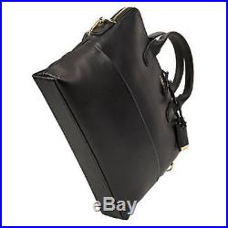 Tumi Women's Voyageur Tina Laptop Carrier Tote Black One Size add-a-bag strap